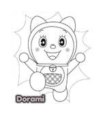 Doraemon da colorare 6