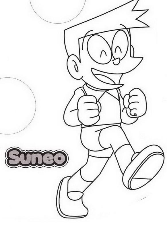 for Doraemon immagini da colorare