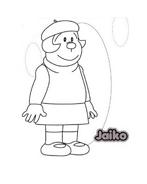 Doraemon da colorare 11