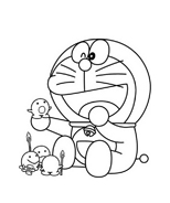 Doraemon da colorare 18