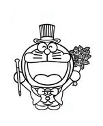 Doraemon da colorare 22