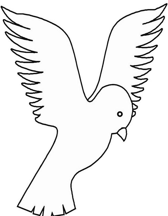 Uccello da colorare 132