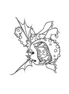 Dragon trainer da colorare 5