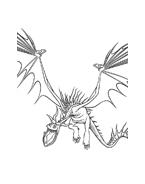 Dragon trainer da colorare 7