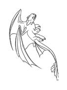 Dragon trainer da colorare 8