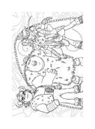 Dragon trainer da colorare 14
