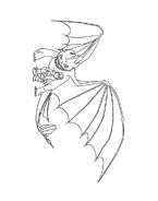 Dragon trainer da colorare 15