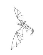 Dragon trainer da colorare 16