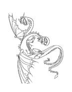 Dragon trainer da colorare 18