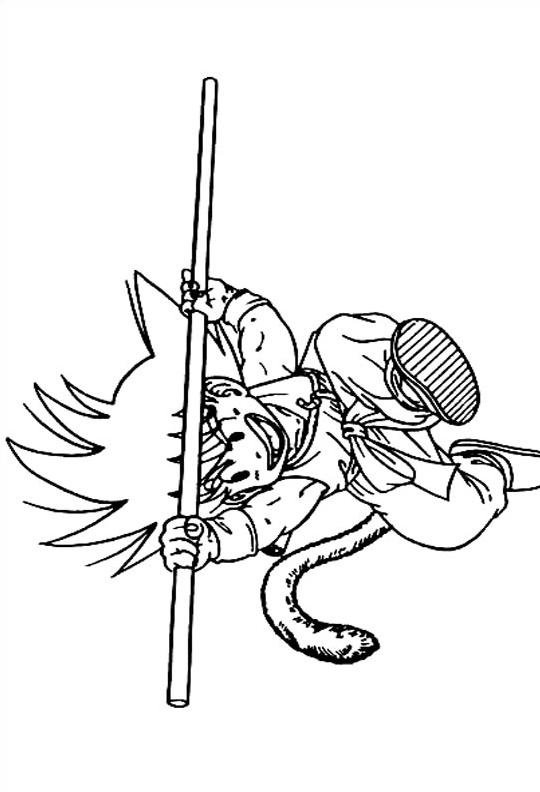 Dragon ball da colorare 43