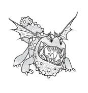 Dragon trainer da colorare 23