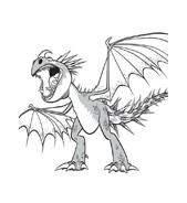 Dragon trainer da colorare 26