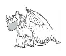 Dragon trainer da colorare 29