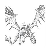 Dragon trainer da colorare 31