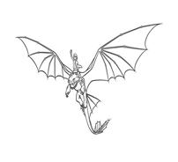 Dragon trainer da colorare 32