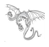 Dragon trainer da colorare 33
