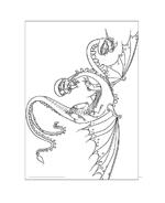 Dragon trainer da colorare 37