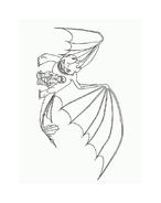 Dragon trainer da colorare 42