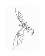 Dragon trainer da colorare 43
