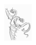 Dragon trainer da colorare 45