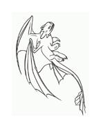 Dragon trainer da colorare 51