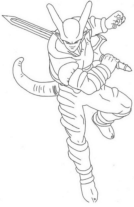 Dragon ball da colorare 287