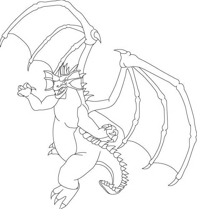 Dragonix da colorare 11