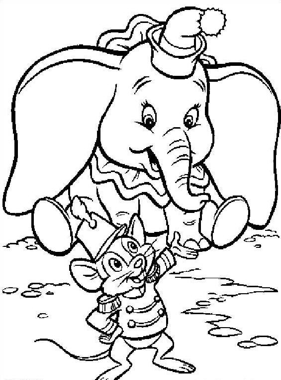 Dumbo da colorare 5
