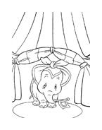 Dumbo da colorare 16