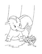 Dumbo da colorare 17