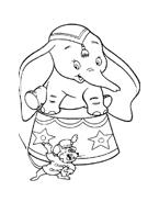 Dumbo da colorare 19