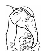 Dumbo da colorare 21