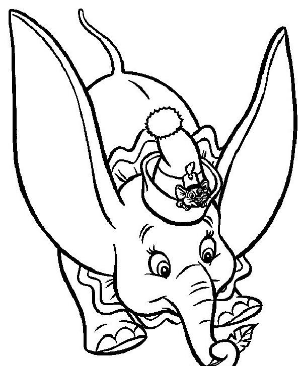 Dumbo da colorare 24