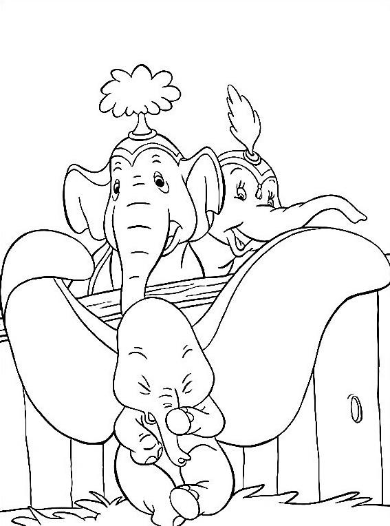 Dumbo da colorare 31