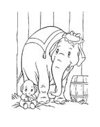 Dumbo da colorare 35