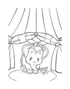 Dumbo da colorare 39