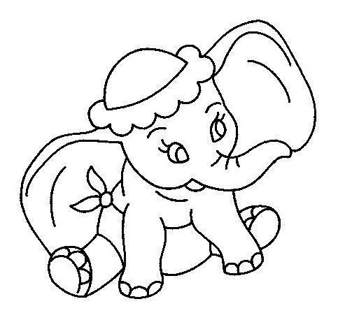 Dumbo da colorare 42