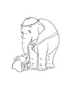 Dumbo da colorare 44