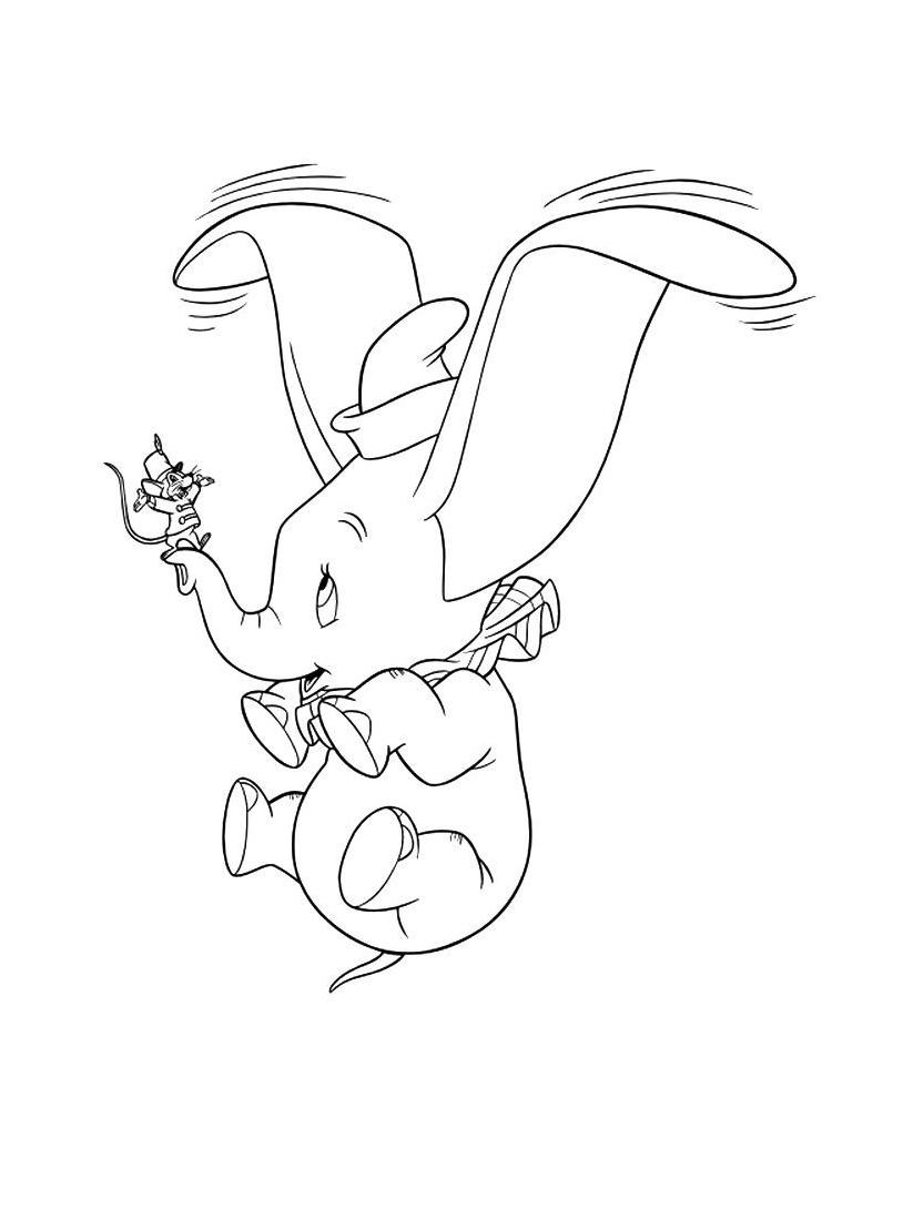 Dumbo da colorare 46