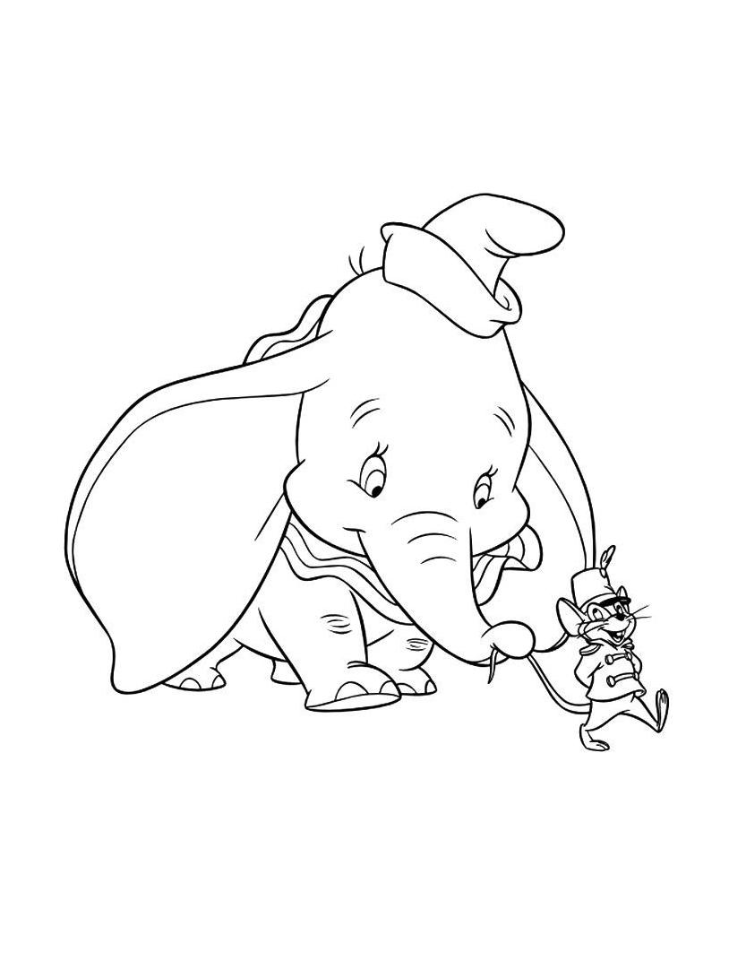 Dumbo da colorare 47