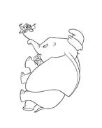 Dumbo da colorare 48