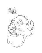 Dumbo da colorare 50