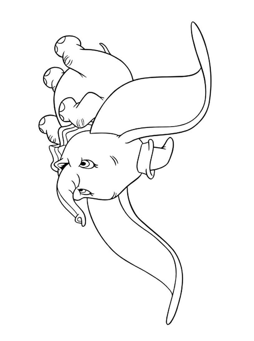 Dumbo da colorare 59