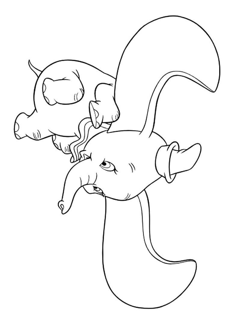 Dumbo da colorare 60