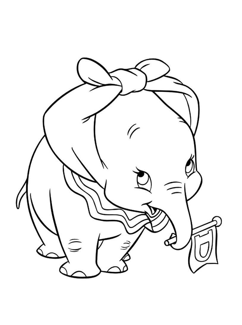 Dumbo da colorare 62