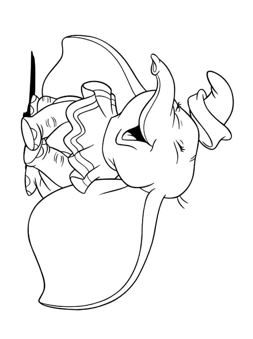 Dumbo da colorare 64