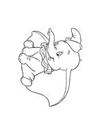 Dumbo da colorare 67