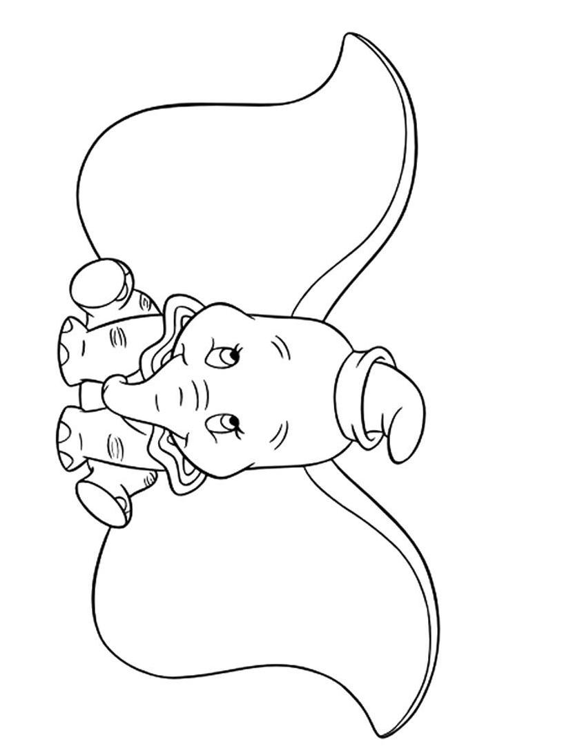 Dumbo da colorare 68