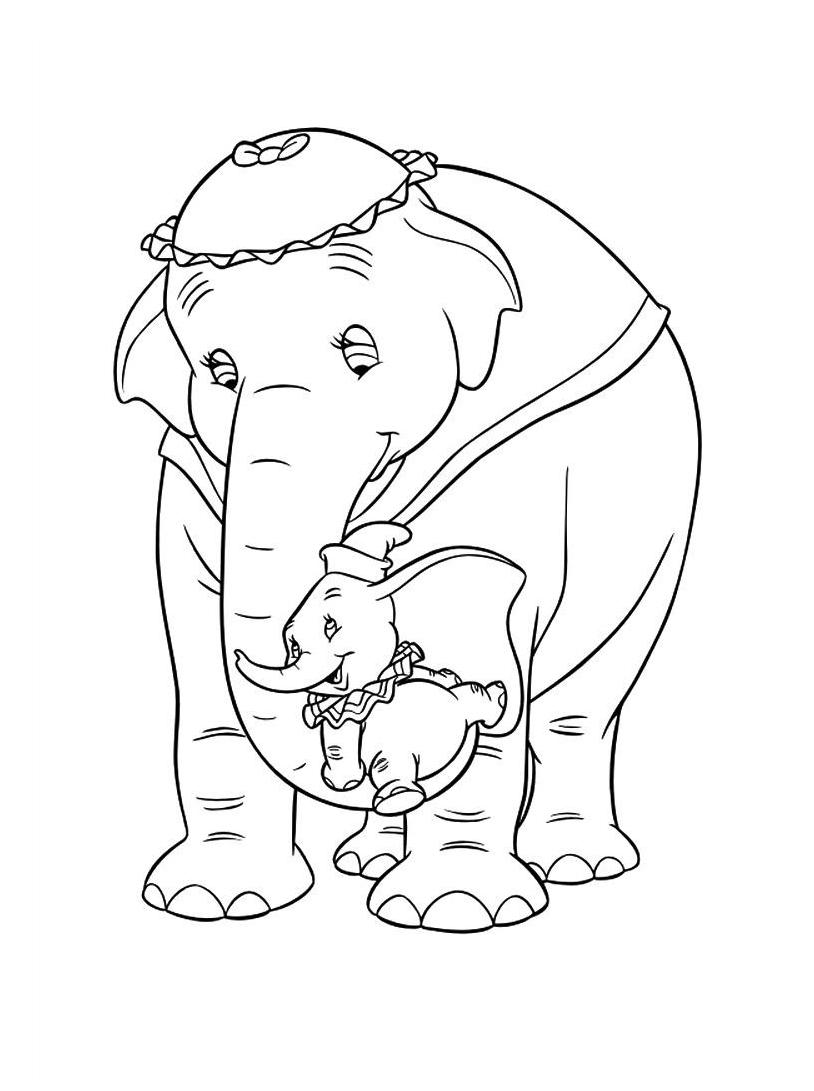 Dumbo da colorare 69