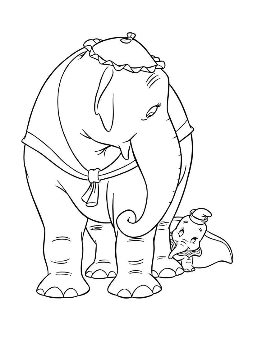 Dumbo da colorare 70
